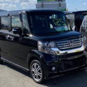 鶴岡中古車N-BOX黒2